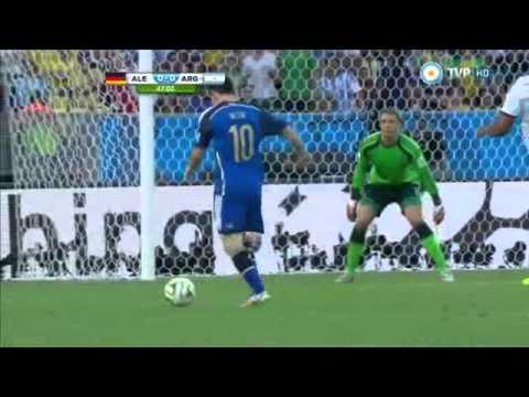 Alemania vs Argentina 1 0 Brasil 2014 tv publica