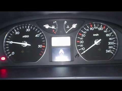 Renault Laguna II Cold Start -11°C for RLKP