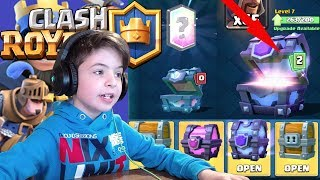 SUPER CHEST OPENING - Clash Royale