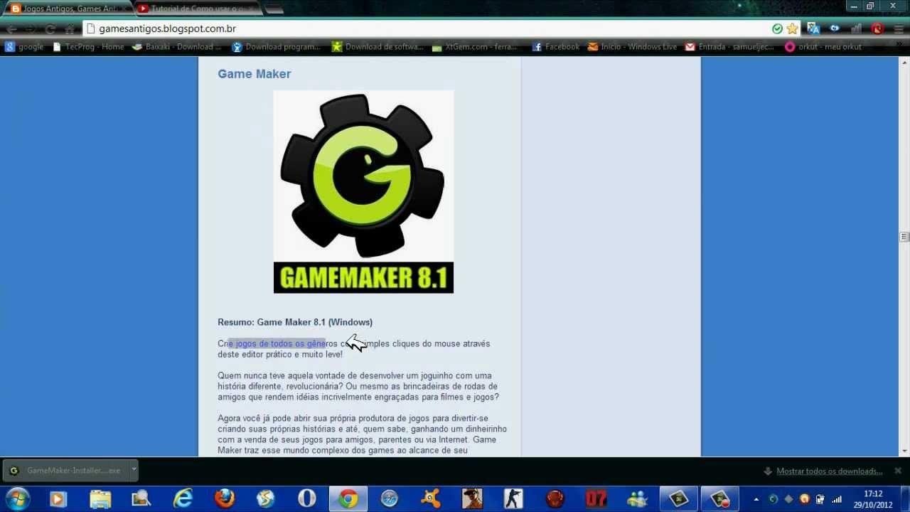 Game Maker 8.1 Como Usar
