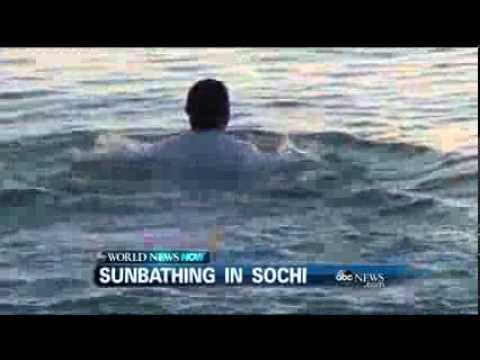 WEBCAST: Sunbathing in Sochi !