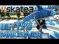 Skate 3 - Part 5 | BETTY'S MAKEOVER | COFFIN OVER THE SHARK