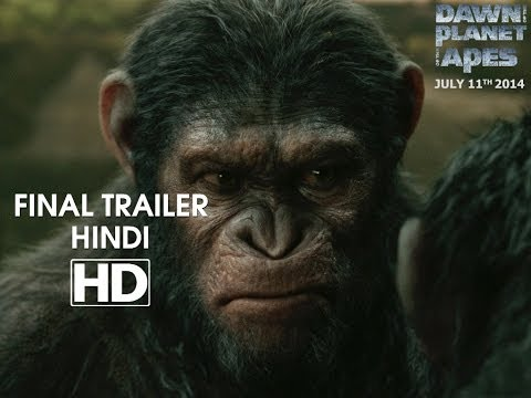 Dawn Of The Planet Of The Apes - Official Final Trailer Hindi  [hd] video