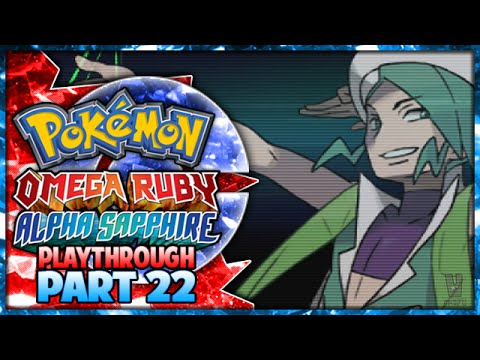 Pokemon Omega Ruby & Alpha Sapphire Playthrough Part 22 - Gym Leader Wallace! video