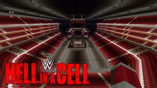 Minecraft WWE Hell in a cell 2015/Staples centre