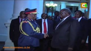 Kibaki's Final Moments In State House