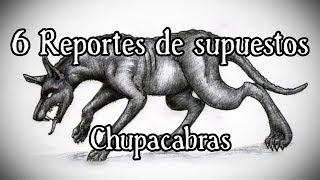 6 Chupacabras REALES captados en VÍDEO | TOP 6