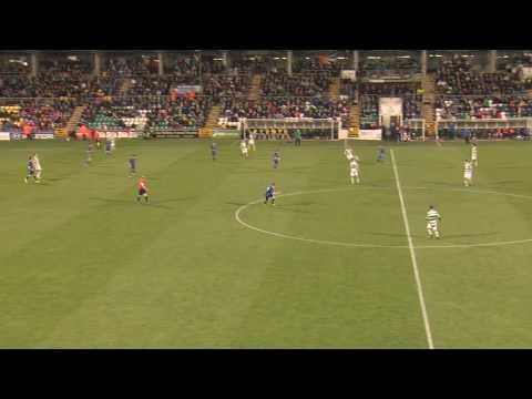 Brandon Miele goal #3 Bluebell United 2:4 Shamrock Rovers FAI Cup QF 08-09-17