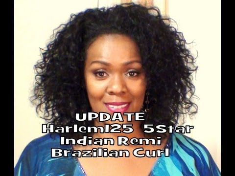 5 Star Indian Remi Brazilian Curl ~ How To Care For Your Hair video
