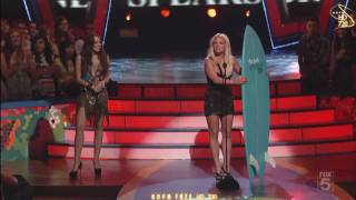 (HD) Britney Spears at Teen Choice Awards 2009