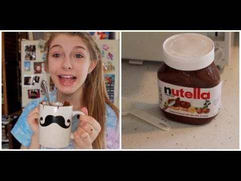 DIY 2 Minute Nutella Cake!
