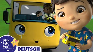 Die Räder vom Bus | Kinderlieder | Little Baby Bum Deutsch | Kinderreime Für Kinder