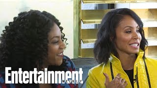 Jada Pinkett Smith Tried Groupon Thanks To Girls Trip Costar Tiffany Haddish | Entertainment Weekly
