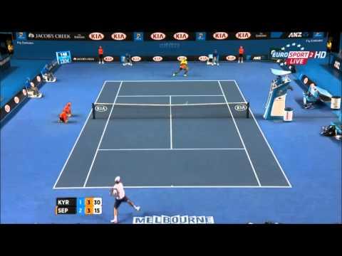 Nick Kyrgios (AUS) vs Andreas Seppi (ITA) / Highlights / Australian Open - 2015 R4