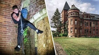 EXPLORING HAUNTED ABANDONED CHURCH!!!
