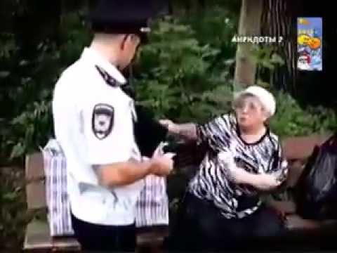 Бабулька дает - мега прикол! ржач! угар!