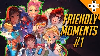 Broverwatch! Friendly Moments & Livesavers #1 - Overwatch Highlights Montage