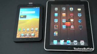 Apple iPad Vs. Samsung Galaxy Tab