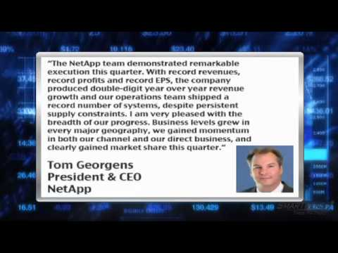 Earnings Report: NetApp (NASDAQ:NTAP) Top Line Surges 36%, Beats Q3 Estimates
