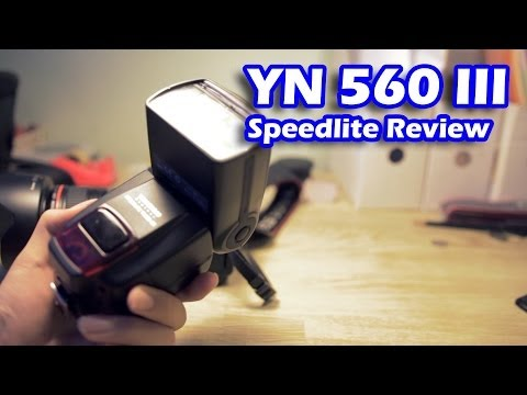 YN 560 III Flash Review