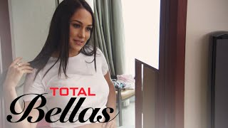 Brie Bella Wears Chicken Cutlets to See If She Wants Bigger Boobs | Total Bellas | E!