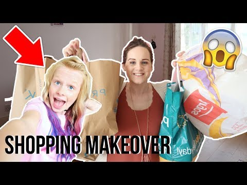 🎨 HUGE BEDROOM MAKEOVER SHOPPING FOR MY NIECE | @MIASLIFE🦄