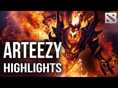 Arteezy Shadow Fiend | Secret vs Na'Vi DAC 2015