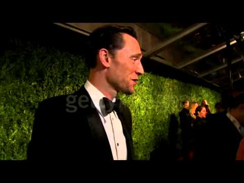 Tom Hiddleston on runners up and his future. 60th London Evening Standard Theatre Awards 2014