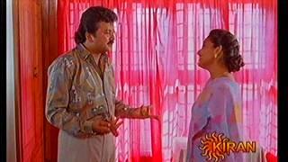 Kanaka hot show in V neck blouse..