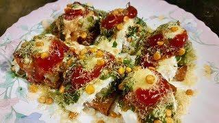 Dahi Bread Chaat/ Chaat Recipe/ Tangy Bread (Aparna's MAGIC episode 167)