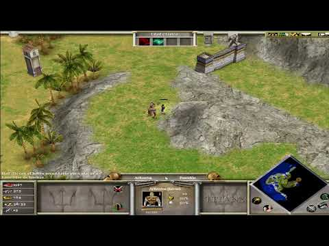 Age Of Mythology gameplay en español comentado HD