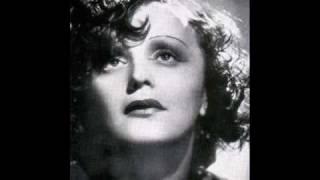 Watch Edith Piaf Chanson Bleue video