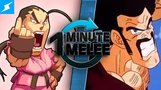 One Minute Melee - Dan vs Hercule (Street Fighter vs Dragon Ball Z)