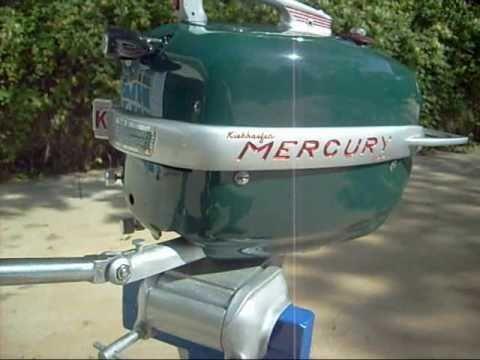 1955 Mercury 5 Hp Mark 5 Youtube