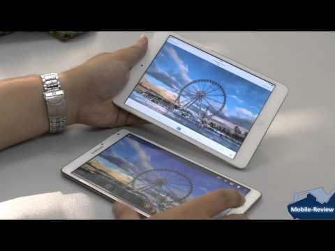 Сравнение экранов Samsung Tab S и Apple iPad mini retina