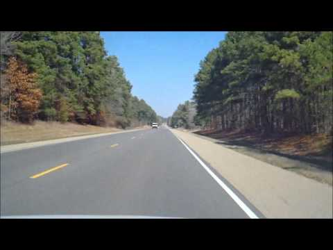 Driving from Fordyce, AR to Pine Bluff, AR. Filmed on March 11th 2011.