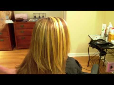 How to do Thick. Chunky Highlights with Foils