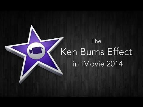 The Ken Burns Effect - iMovie 2014