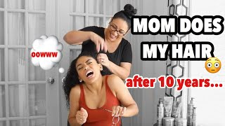 download musica MY MOM DOES MY HAIR FOR THE FIRST TIME IN 10 YEARS jasmeannnn