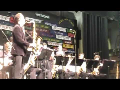 Forwarding by 2012 All State Jazz Band directed by David Grippo Featuring Peter Apfelbaum