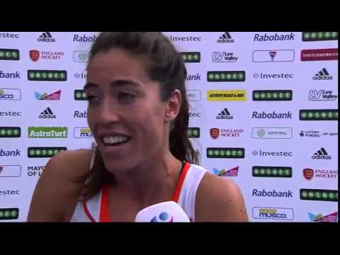 Naomi van As Post Match Interview #UEHC2015 #EHC2015