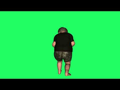 poser animation free 3d green screen effect thumbnail