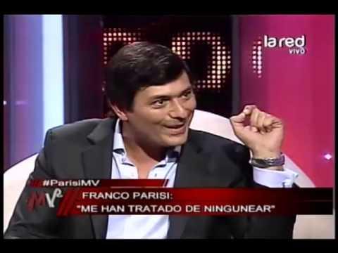 Franco Parisi encara a Michelle Bachelet