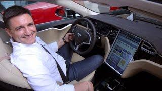 TESLA Model S P85d 2015 FULL review (www.buhnici.ro)