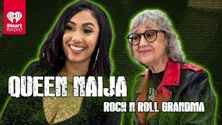 "Download Lagu Queen Naija Sings ""Medicine"" A Cappella + Talks Musical Inspirations | Rock 'N' Roll Grandma Gratis STAFABAND"