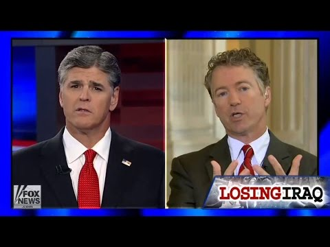 Rand Paul Vs Sean Hannity On ISIS
