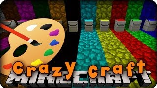 Minecraft Mods - CRAZY CRAFT 2.0 - Ep # 14 ' PAINTING MOD!!'