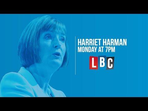 Harriet Harman - Live On LBC