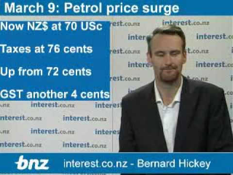 Economic Weather report: Petrol price hits 17 mth high of NZ$1.75/litre
