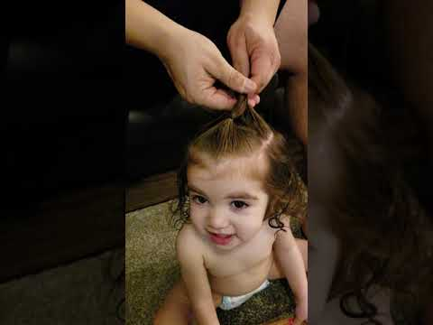 Easy little girls hairstyle